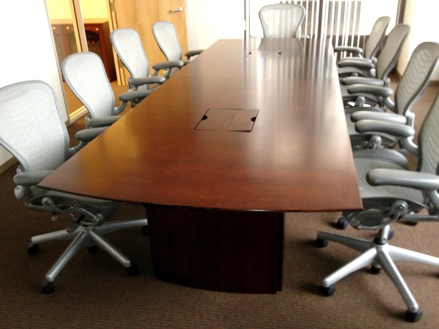 Ft Mahogany Conference Table CubeKing - 12 ft conference table