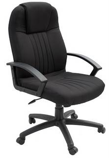 Executive High Back Chair - Black