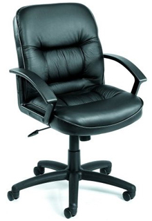 Executive Mid Back Leather Chair 2