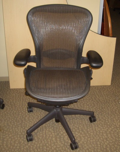 Herman Miller Aeron Task Chair in (Black)
