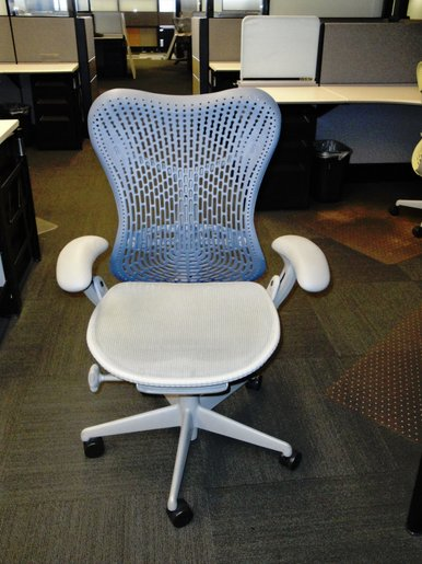 Herman Miller Mirra Task Chair-Blue Fog