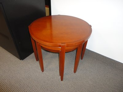 Herman Miller Nested Round Table Set