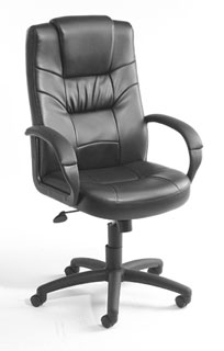 High Back Black LeatherPlus Executive Chair