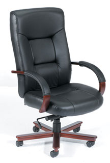 Italian Leather Executive Seating