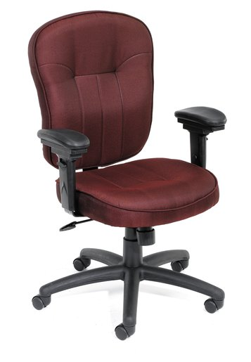 Mid - Back Task Chair - Burgundy
