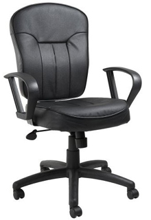 Mid-Back Task Chair With Loop Arms