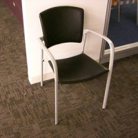 brayton stacking break chairs