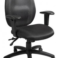 high back multifunction task chair black